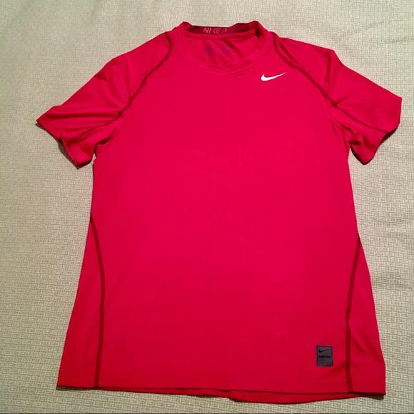 2ad5ec308b0a Men s Nike Pro Red Dri-Fit Tee. M 5a764f86739d48f233e6cca0